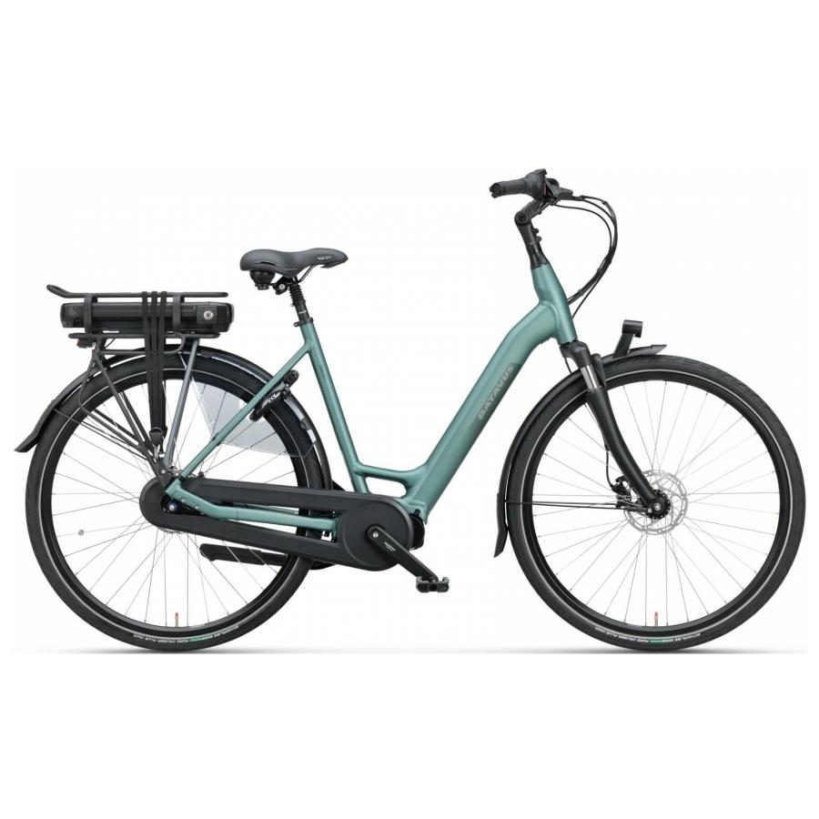 Batavus Finez E-Go elektrisch groen dames