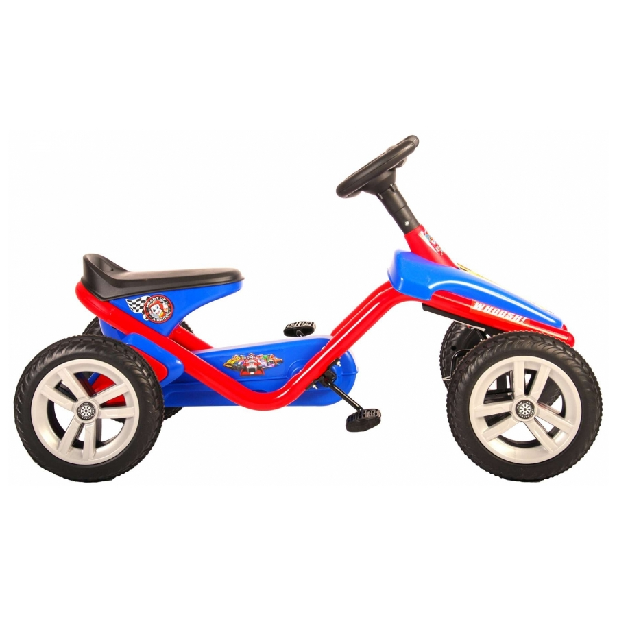 Skelter Paw Patrol Go Kart rood/blauw