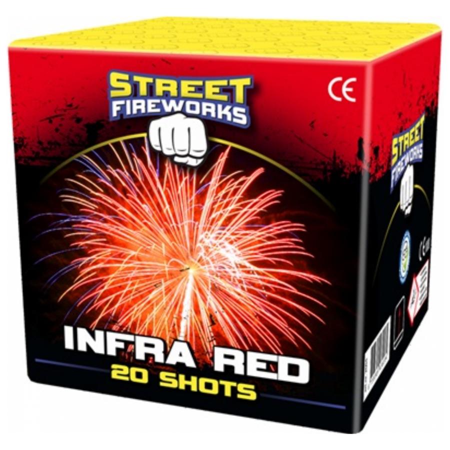 Street Fireworks Infrared