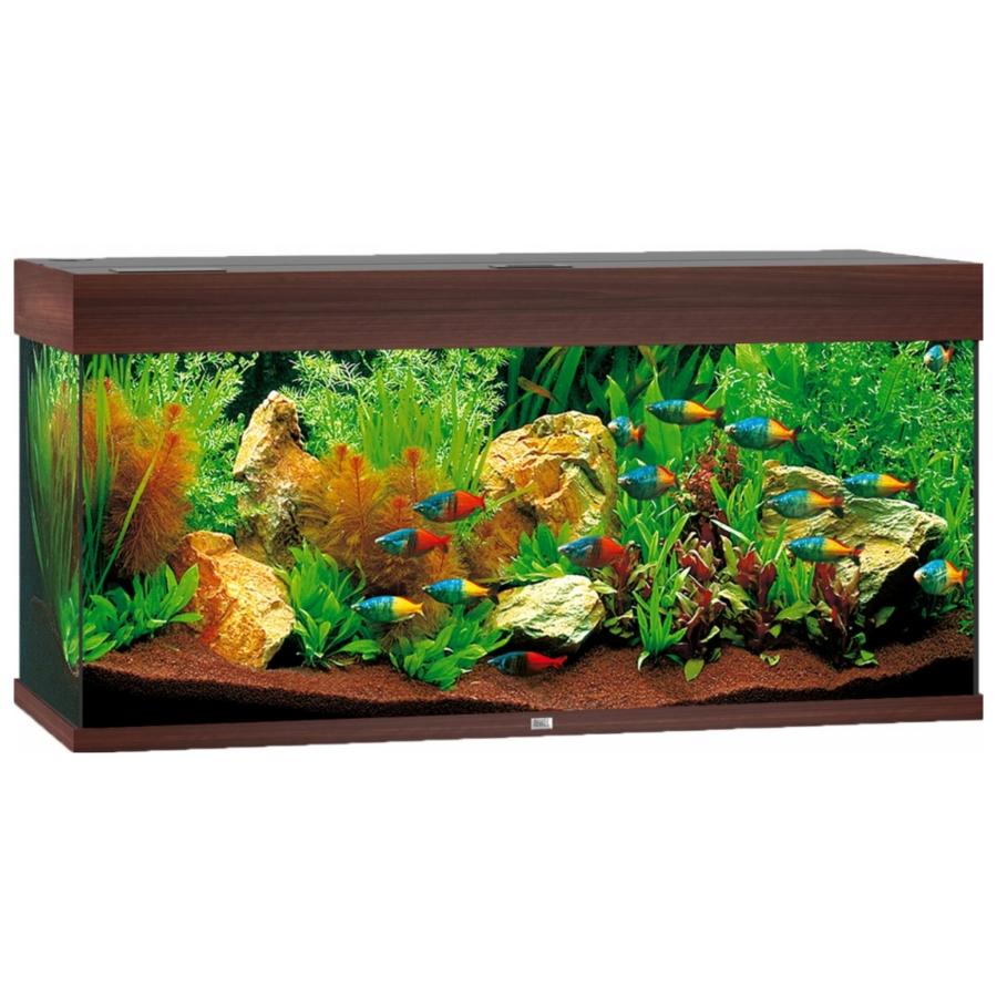 Juwel Aquarium Rio 180 Led - Donkere houtkleur