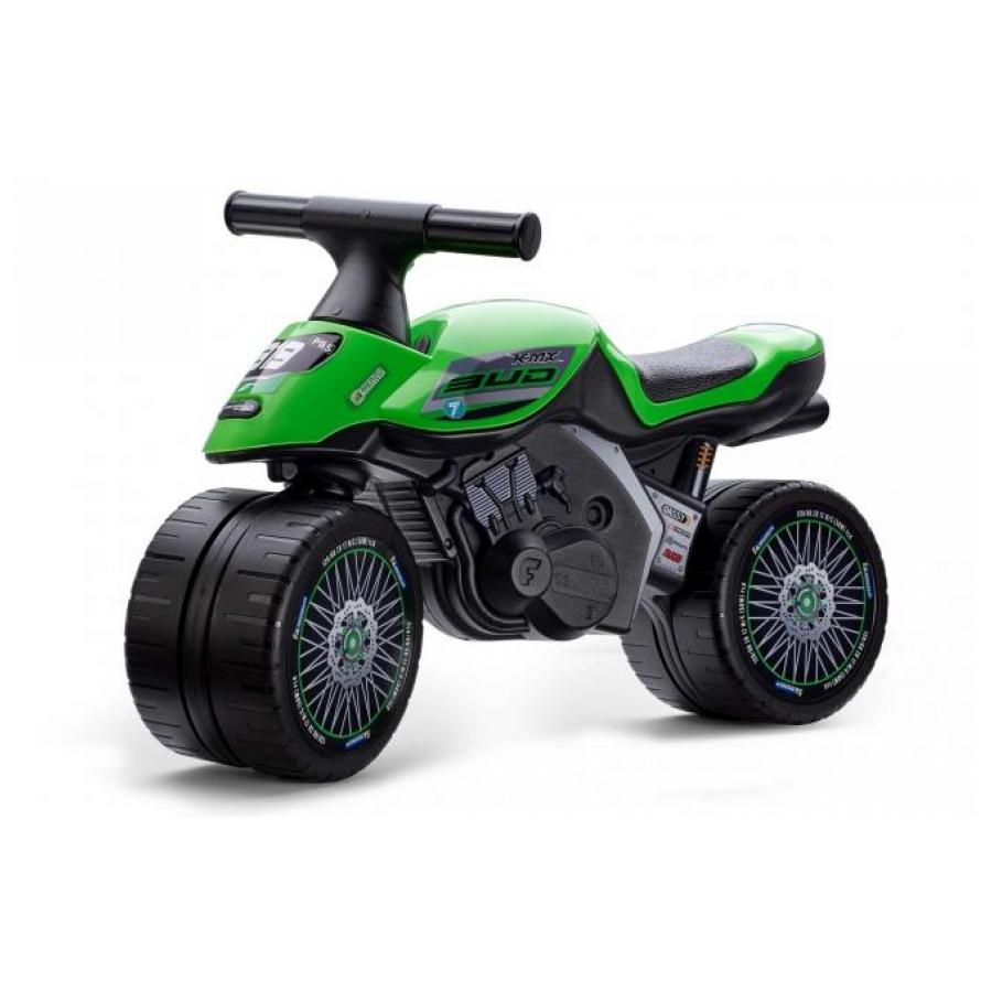 Falk Baby Racing Team Moto loopfiets groen