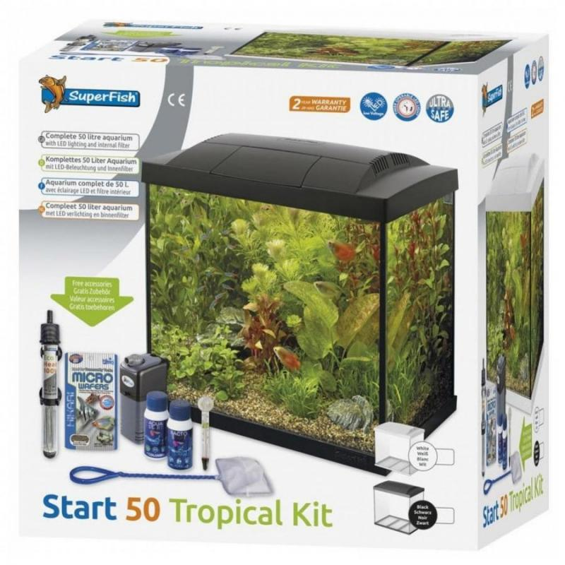 Superfish Start 50 Tropical Kit