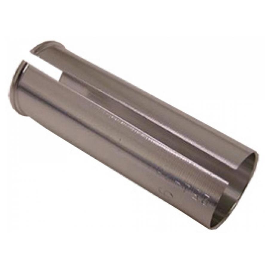 Opvulbus alluminium universeel 30.0-27.2mm zilver