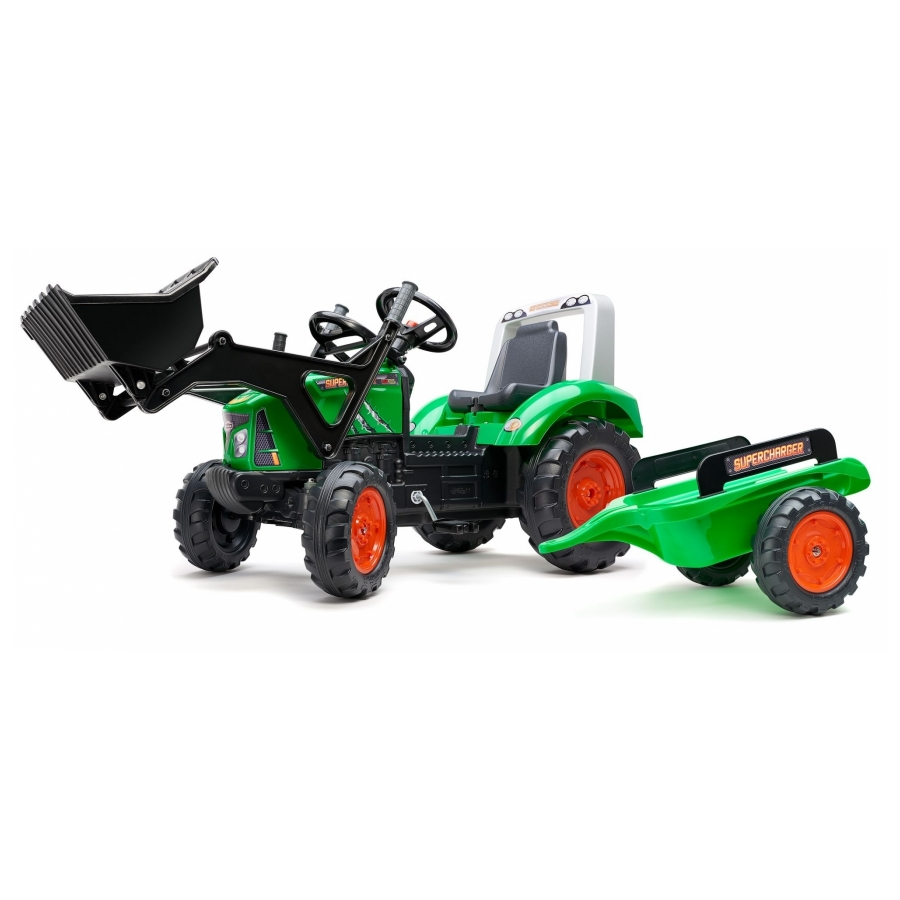 Falk Supercharger shovel groen