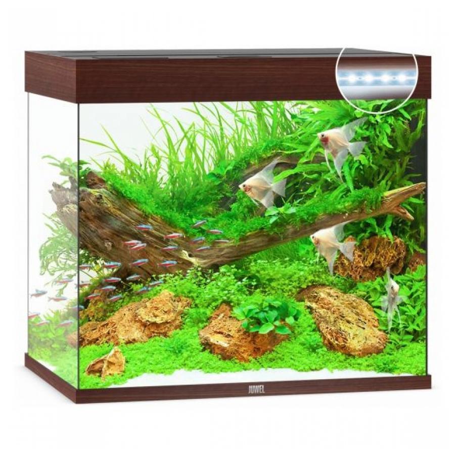 Juwel Aquarium Lido 200 Led Donker hout