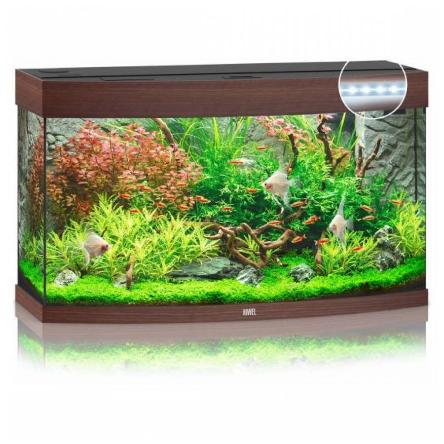 Juwel Aquarium Vision 180 Led Donker hout