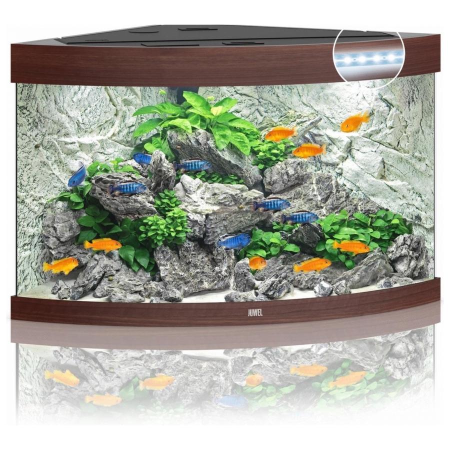 Juwel Aquarium Trigon 190 Led Donkerhout