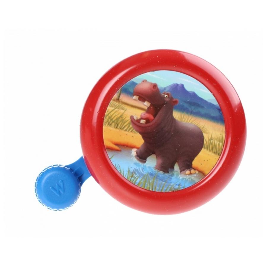 Widek Animal Kingdom nijlpaard rood