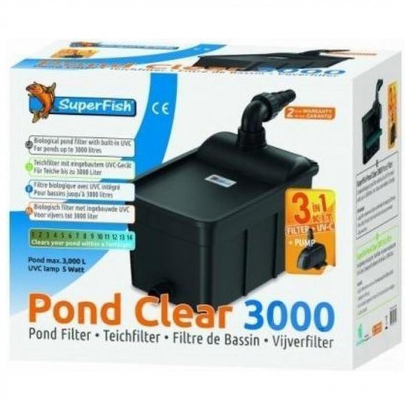 Superfish Pond Clear KIT 3000