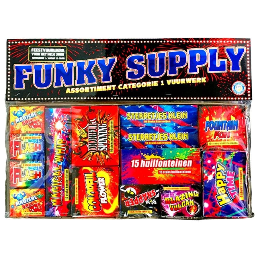 Kinderpakket CAT1 Funky Supply
