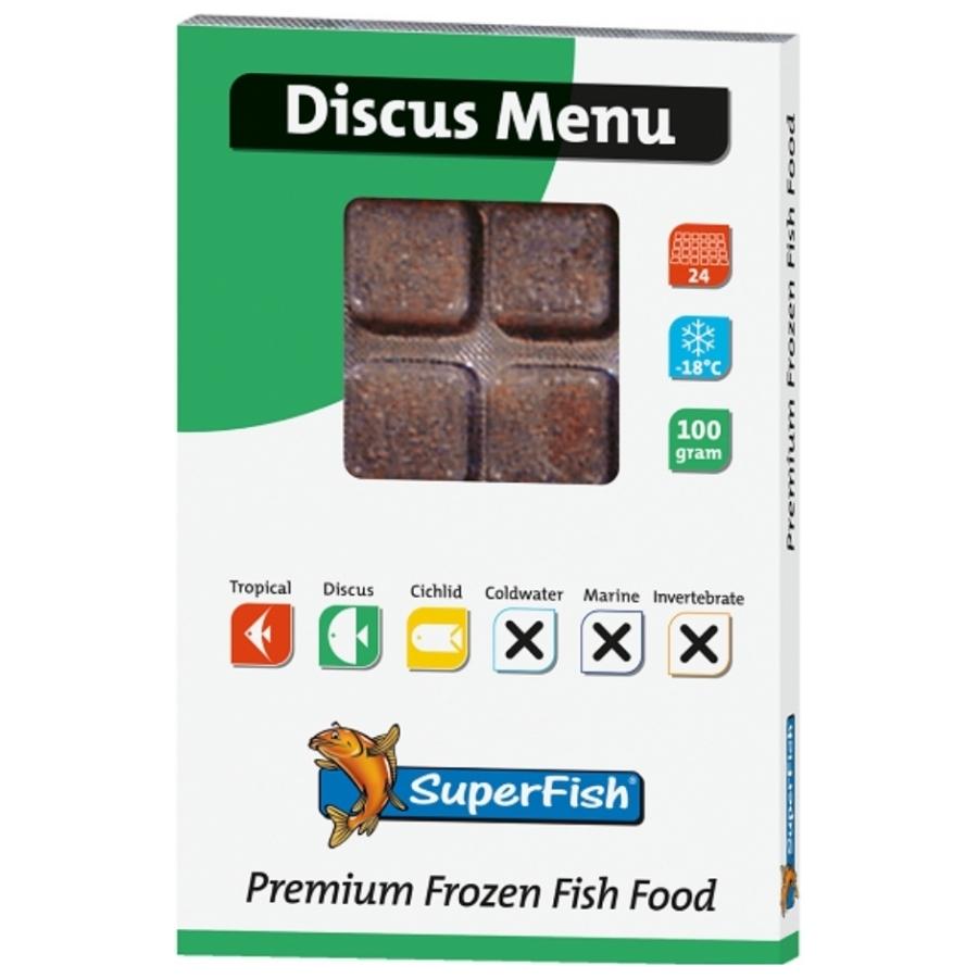 Discus menu