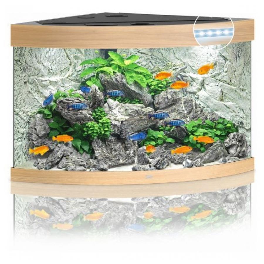 Juwel Aquarium Trigon 190 Led Licht hout