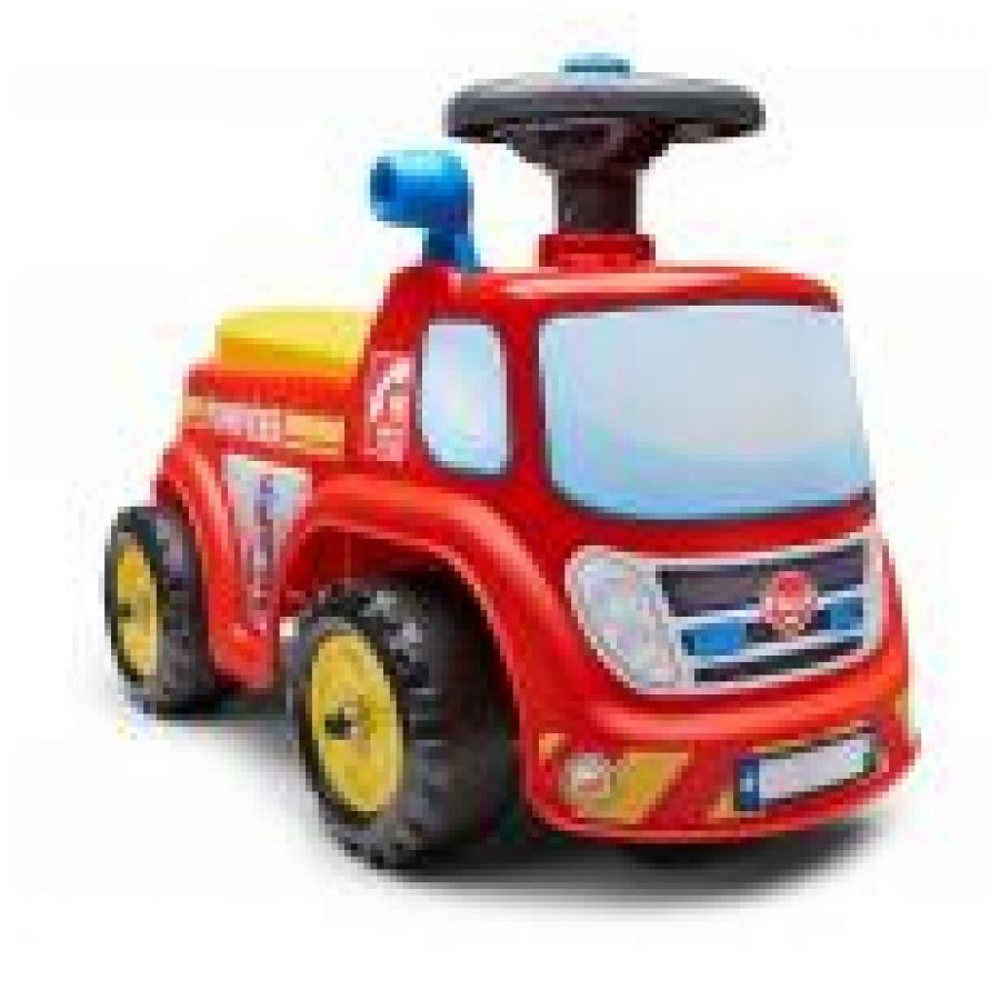 Falk Brandweer auto Ride-on rood
