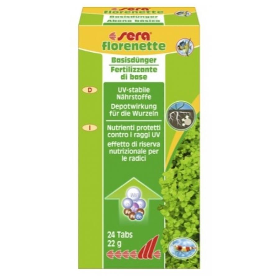 Sera florenette Plantenmeststoffen 24 tabs