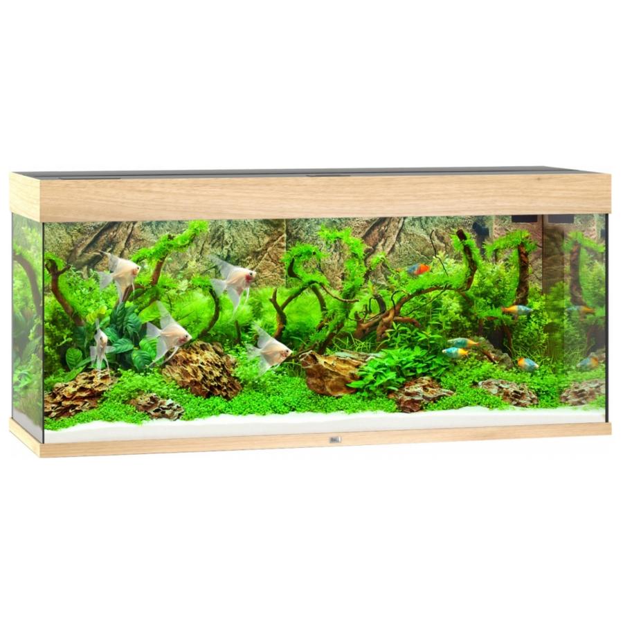 Juwel Aquarium Rio 240 Led - Lichte houtkleur