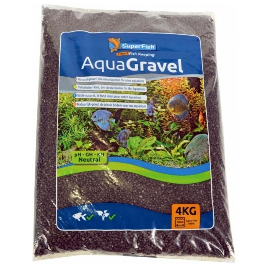 AquaGravel grind zwart 1-2 Mm 4 Kg