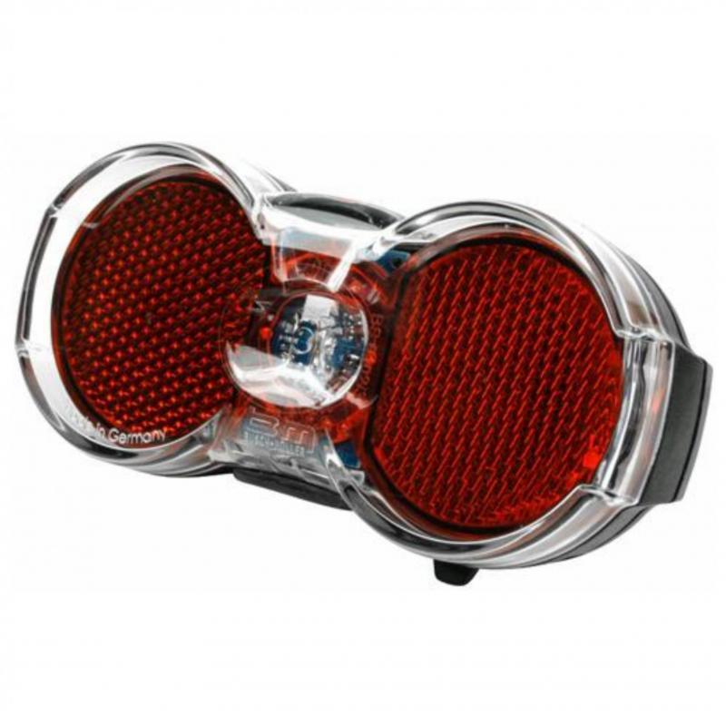 ACHTERLICHT B&M TOPLIGHT FLAT LED BATT STL AUTO