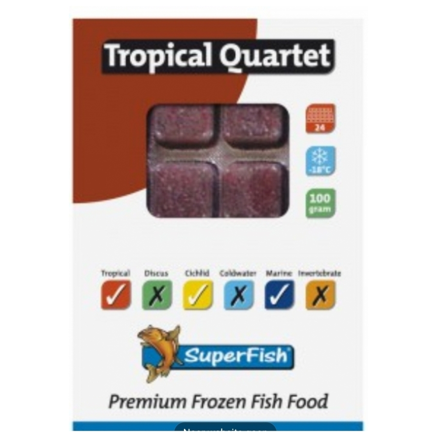 Superfish Tropical quartet 100 g