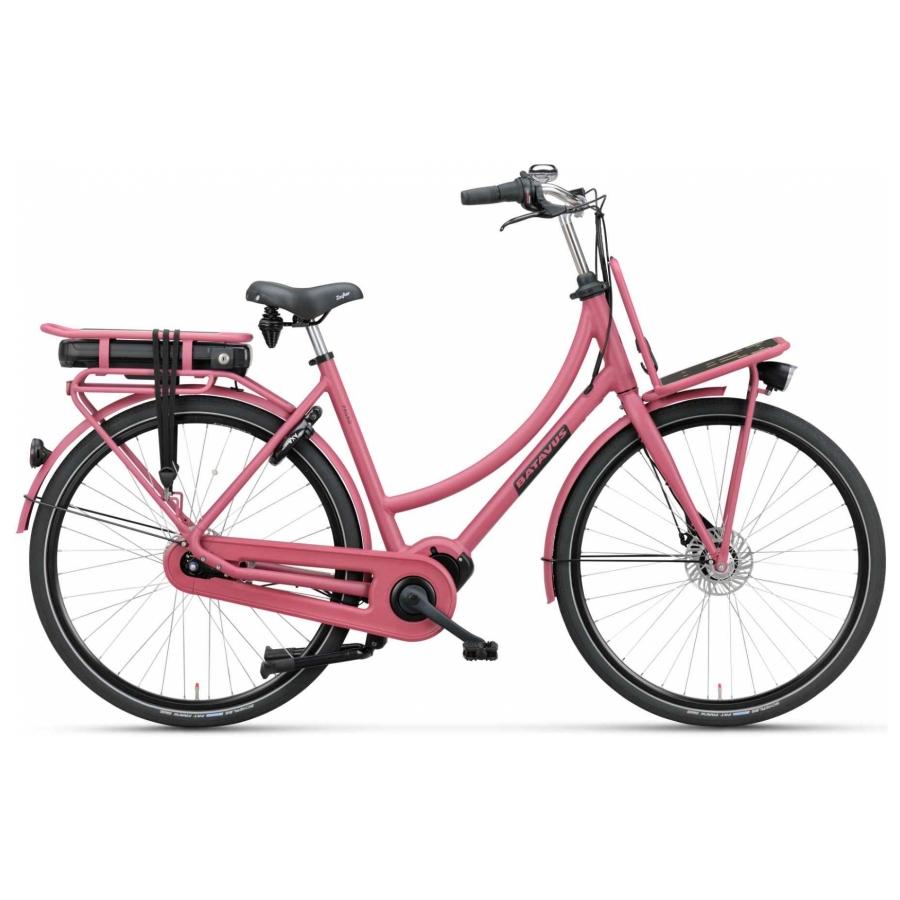 Batavus Packd elektrisch roze dames