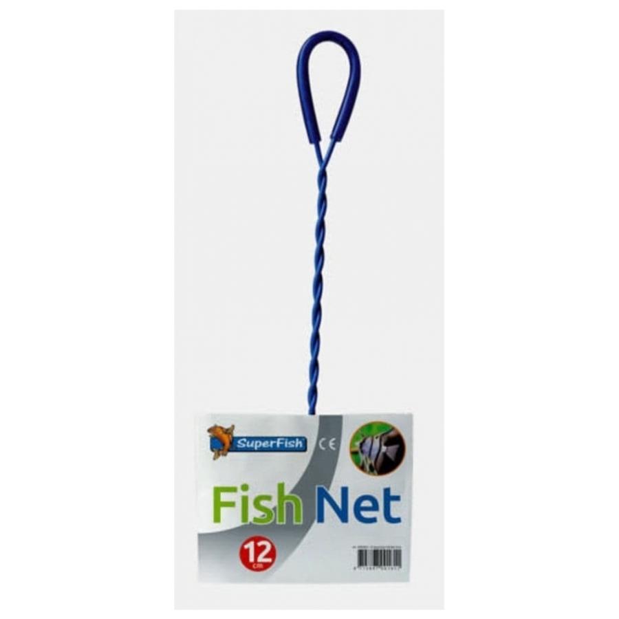 Schepnet Superfish FishNet 12cm blauw