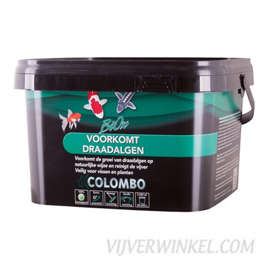 Colombo Biox voor algenbestrijding