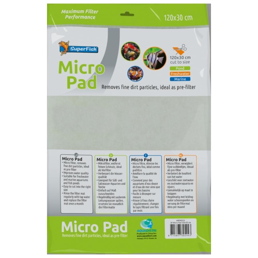 Filtermat micro pad 120x30 cm