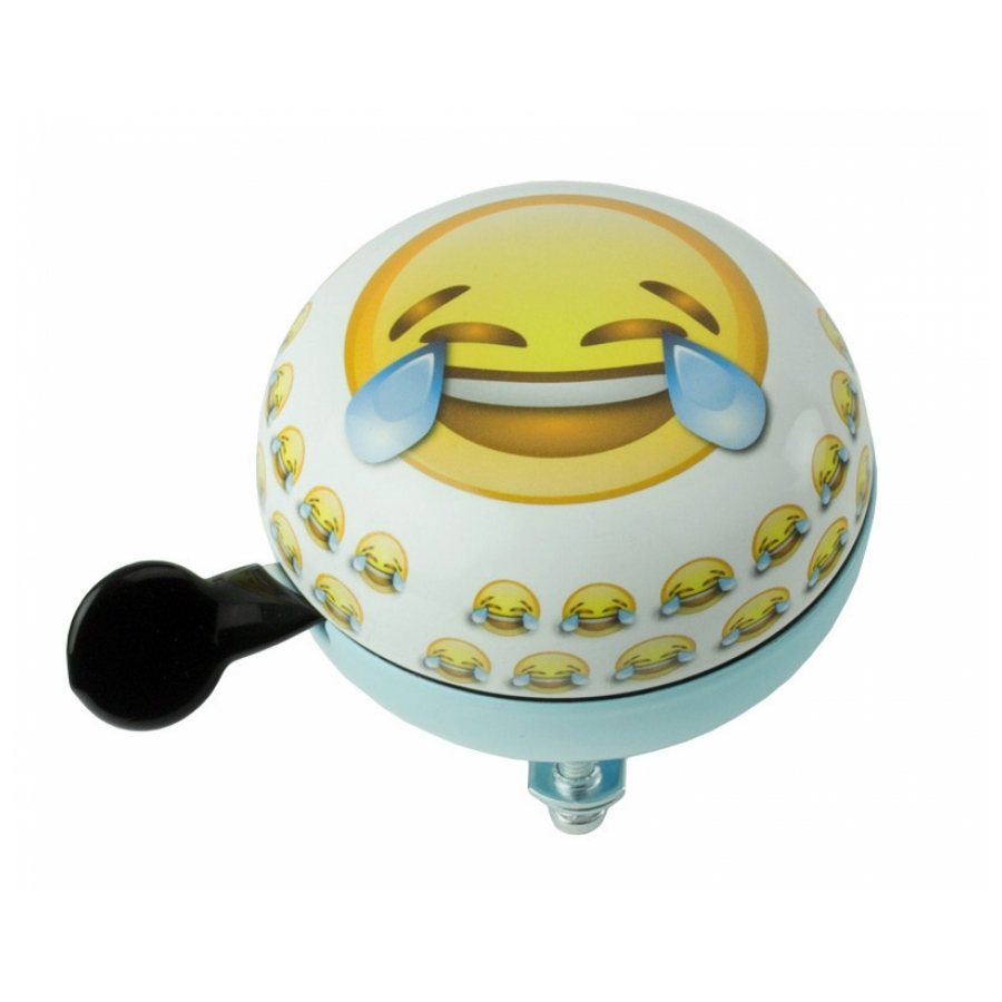 Widek Ding Dong Emoticon Traantjes 60mm blauw/wit