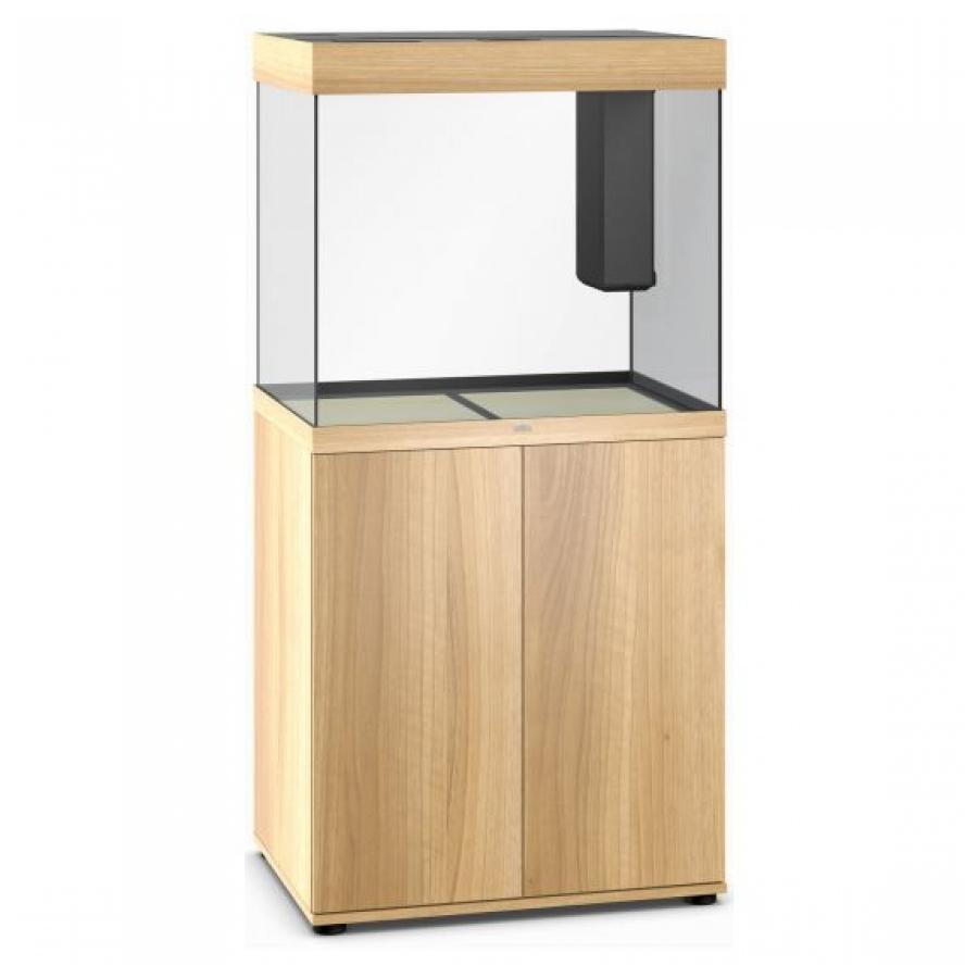 Juwel Lido 200 SBX Aquariumcombinatie met LED-verlichting, verwarming, filter en onderkast, Licht hout