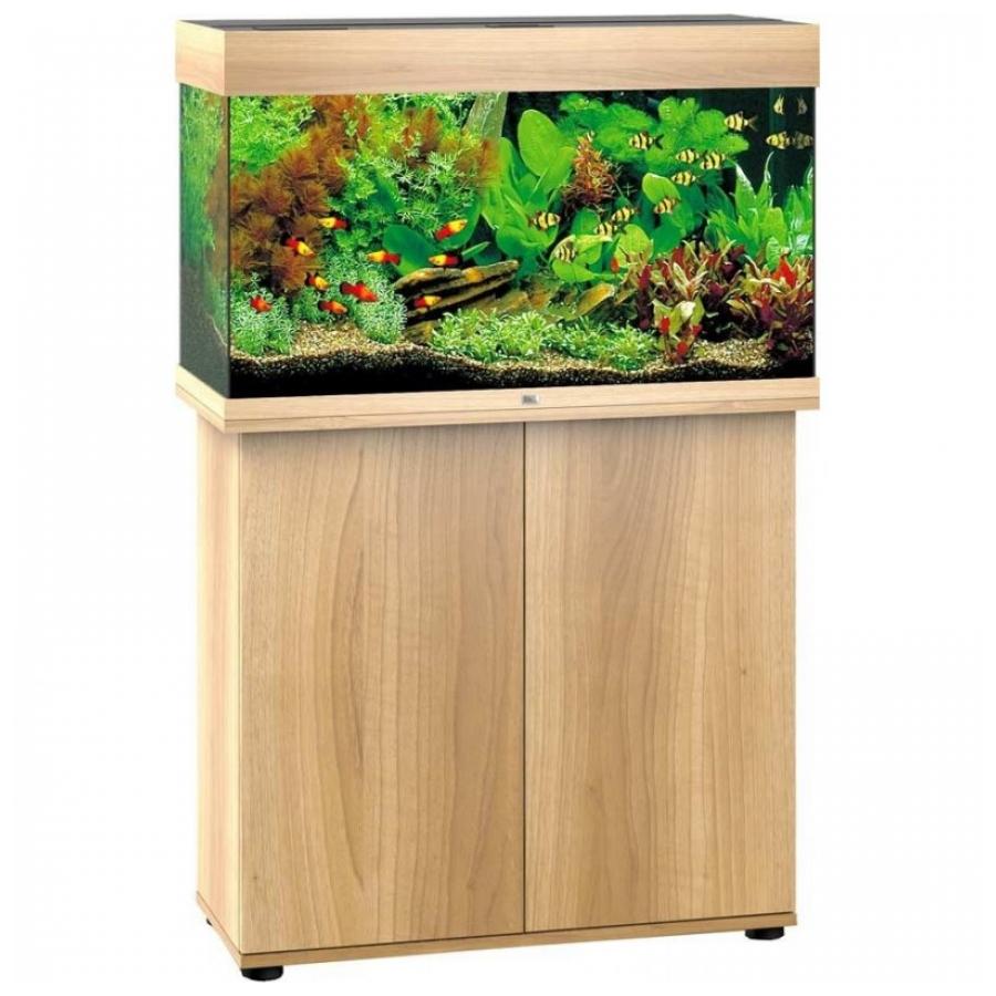 Juwel Aquarium Rio Led Aquariumcombinatie 125 SBX Licht hout