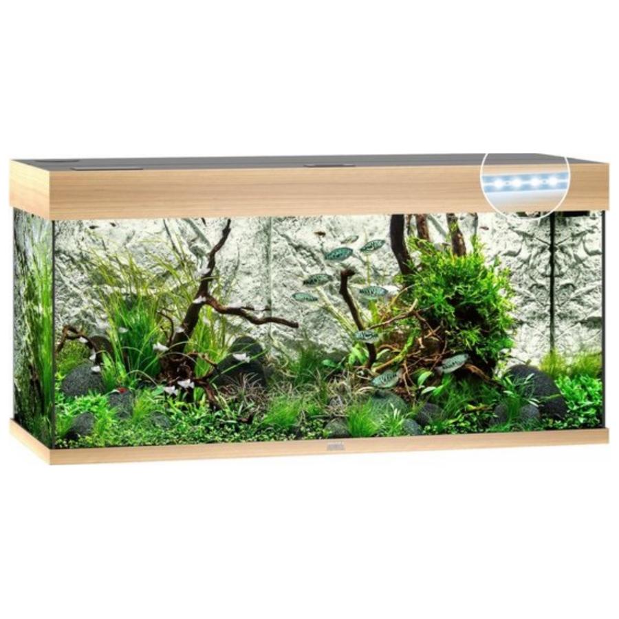 Juwel Aquarium Rio 180 Led - Lichte houtkleur