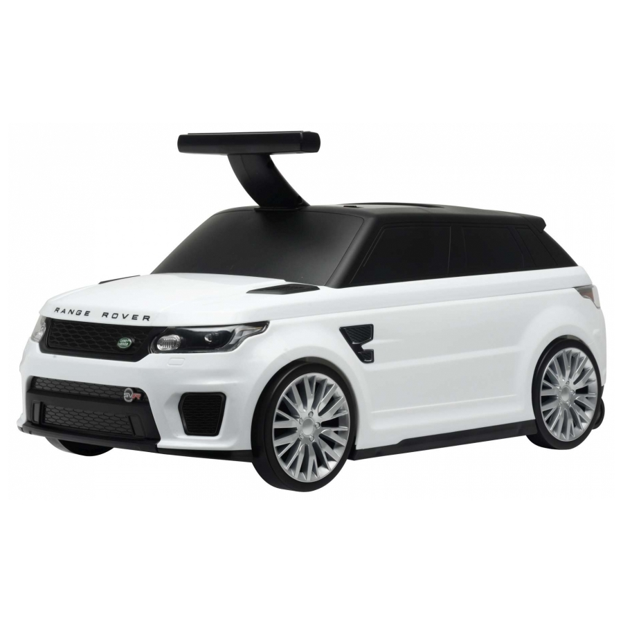 Loopauto/Rolkoffer Range Rover Sport SVR wit