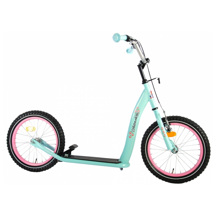 Step Autoped Volare mint blauw