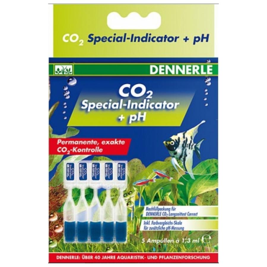 Dennerle Navulverpakking voor CO2 langetermijntest Correct.
