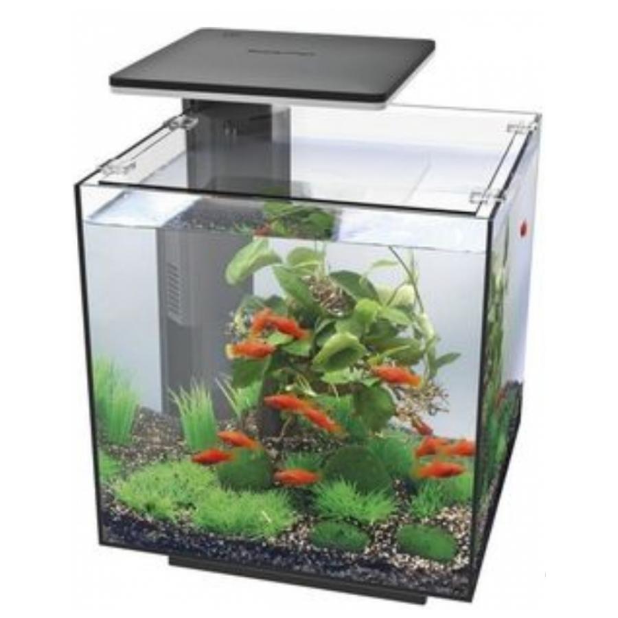 Aquarium set Superfish Qubiq 30 pro 30 liter zwart