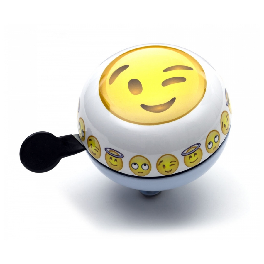 Widek Ding Dong Emoticon Wink 60mm blauw/wit