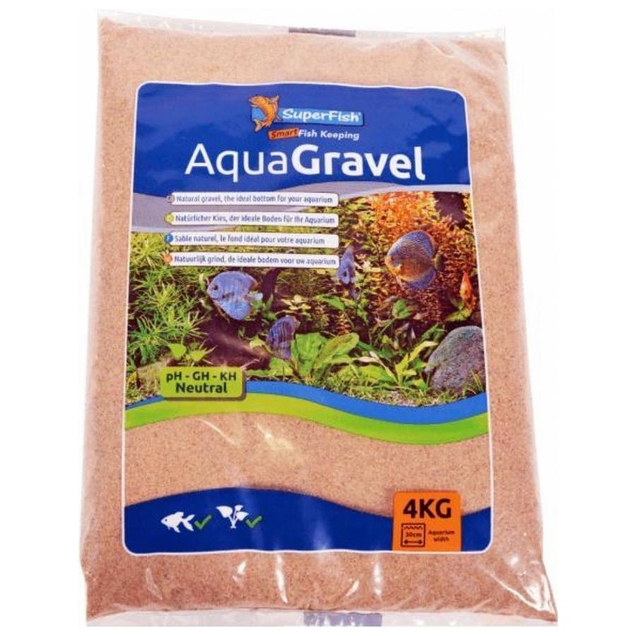 AquaGravel grind rivier zand 4 Kg