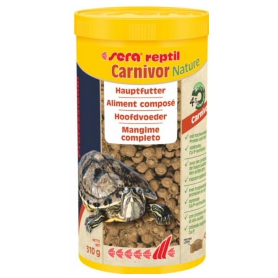 Sera Reptil Carnivor nature 1000 ml