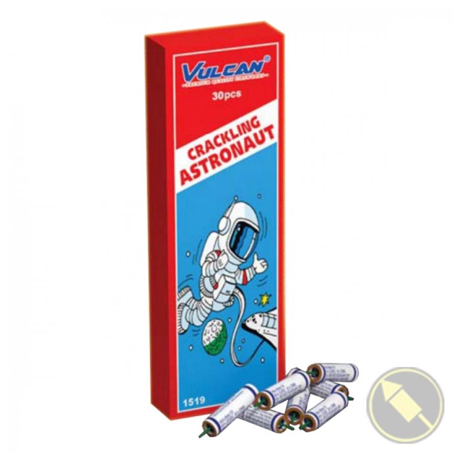 Crackling Astronaut