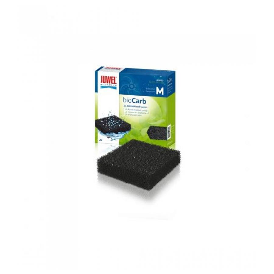 Juwel Biocarb M Compact - Filtermateriaal - 9.5x9.5x2.5 cm