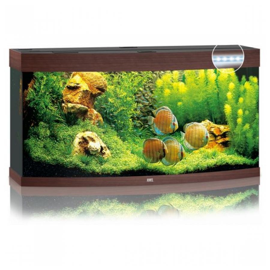 Juwel Aquarium Vision 260 Led Donker hout