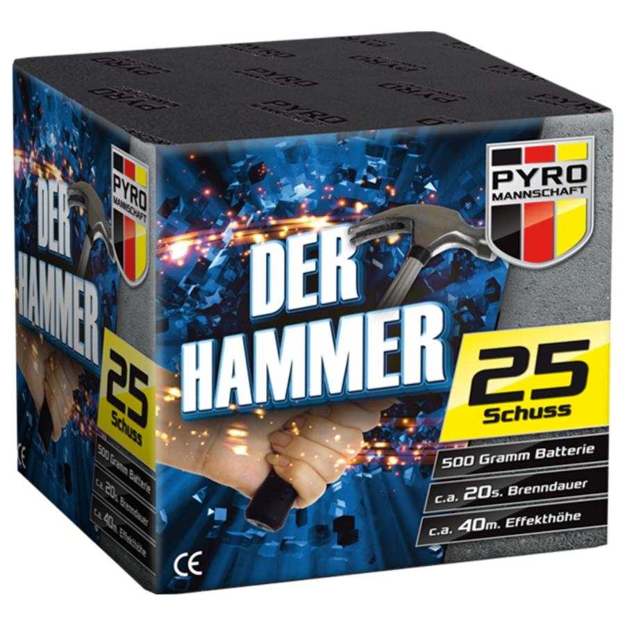 Pyro Mannschaft Der Hammer