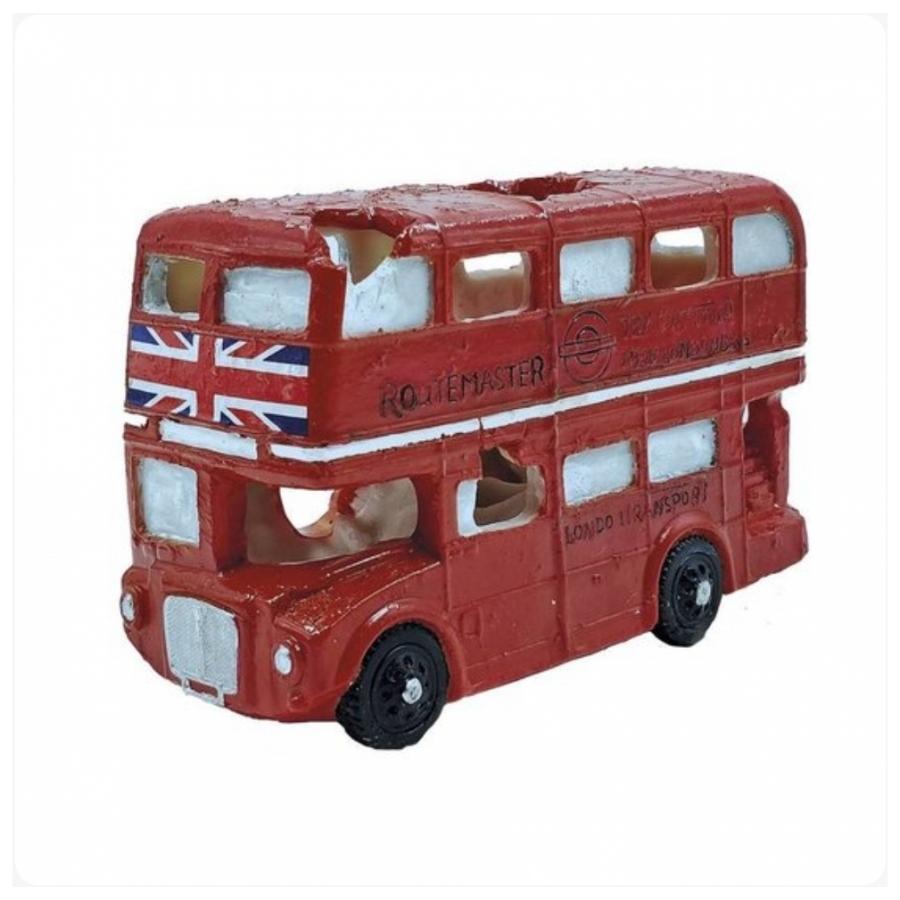 Superfish deco led Londen bus
