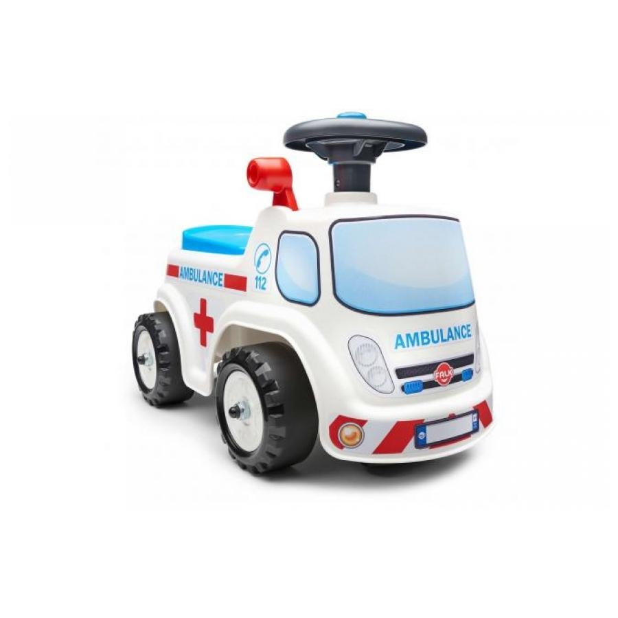 Falk Ambulance Ride-on wit