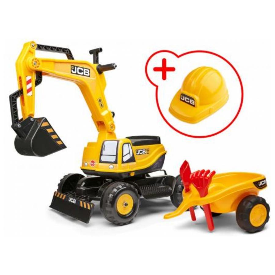 Falk JCB Graafmachine geel