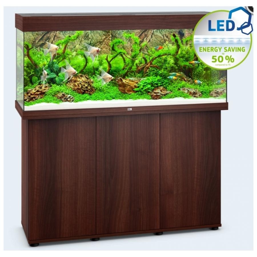 Juwel Aquarium Rio 240 Led - Donkere houtkleur