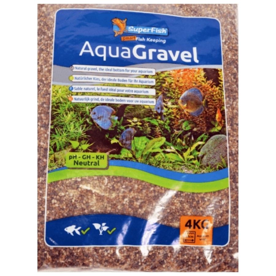 Superfish AquaGravel donker 1-2 mm 4 kg