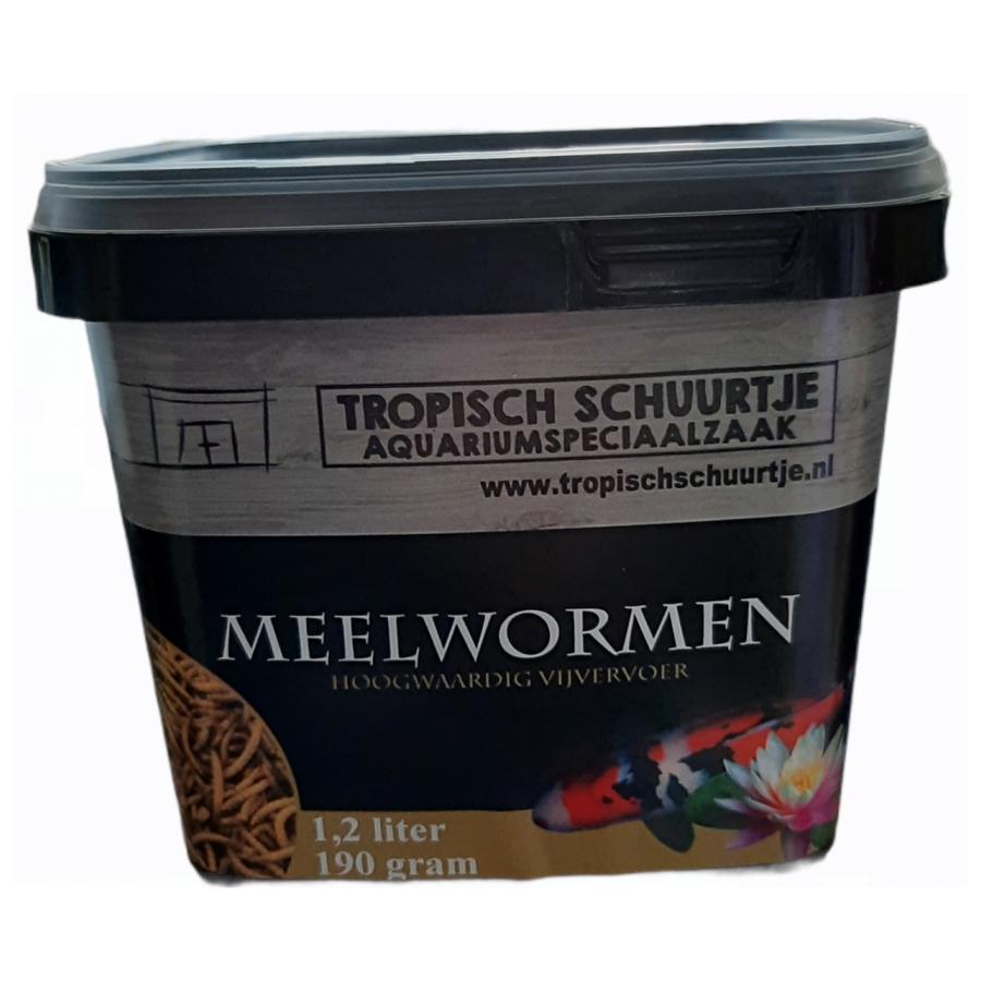 Meelwormen vijvervoer 1.2 liter