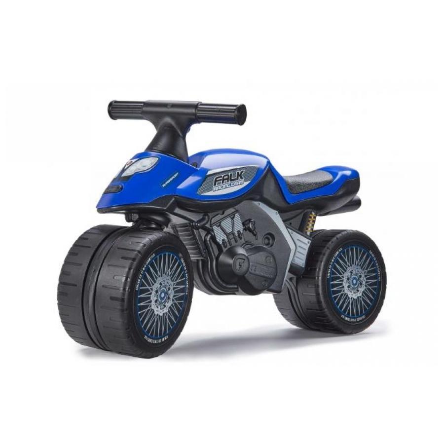 Falk Baby Racing Team Moto loopfiets blauw