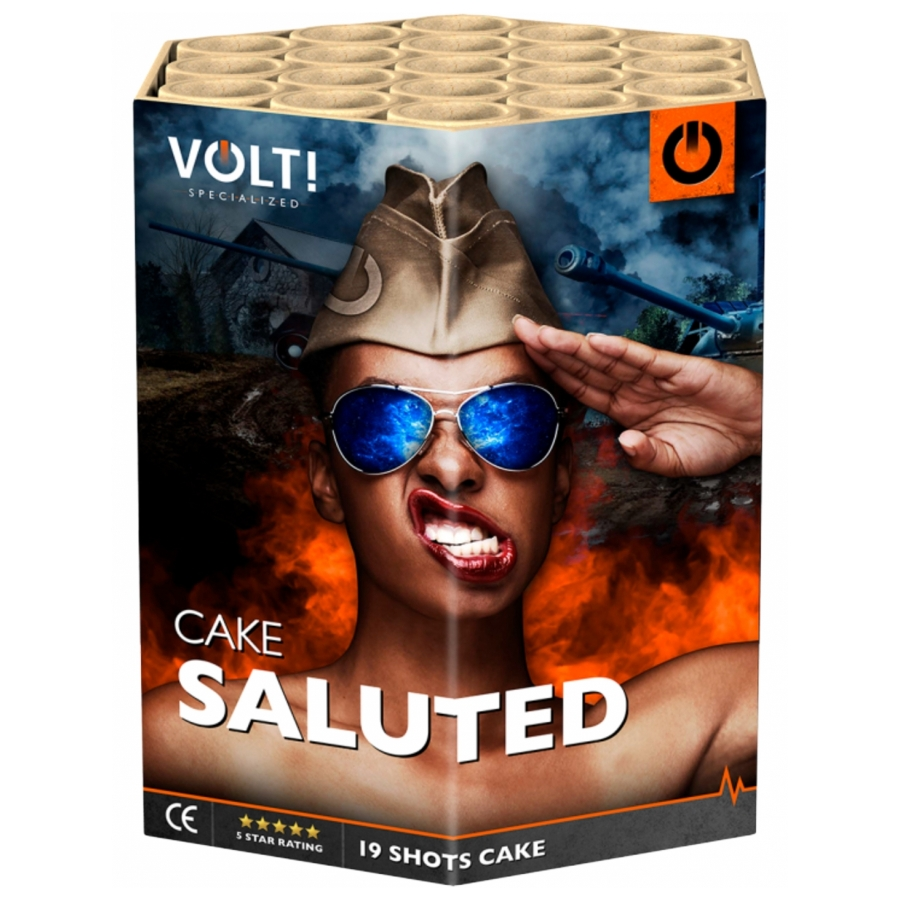 VOLT! Saluted