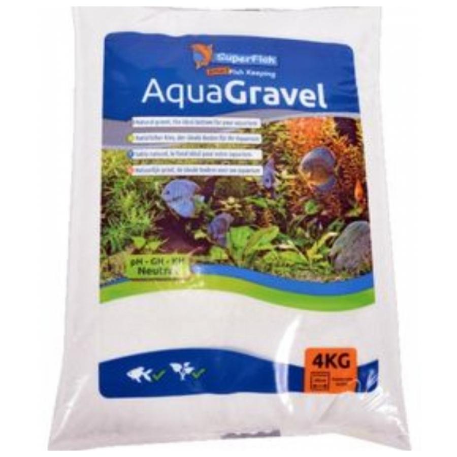 SuperFish AquaGravel grind sneeuw wit 4 KG